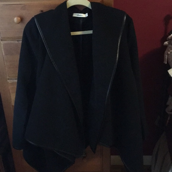 Jackets & Blazers - Black flannel jacket New without tags